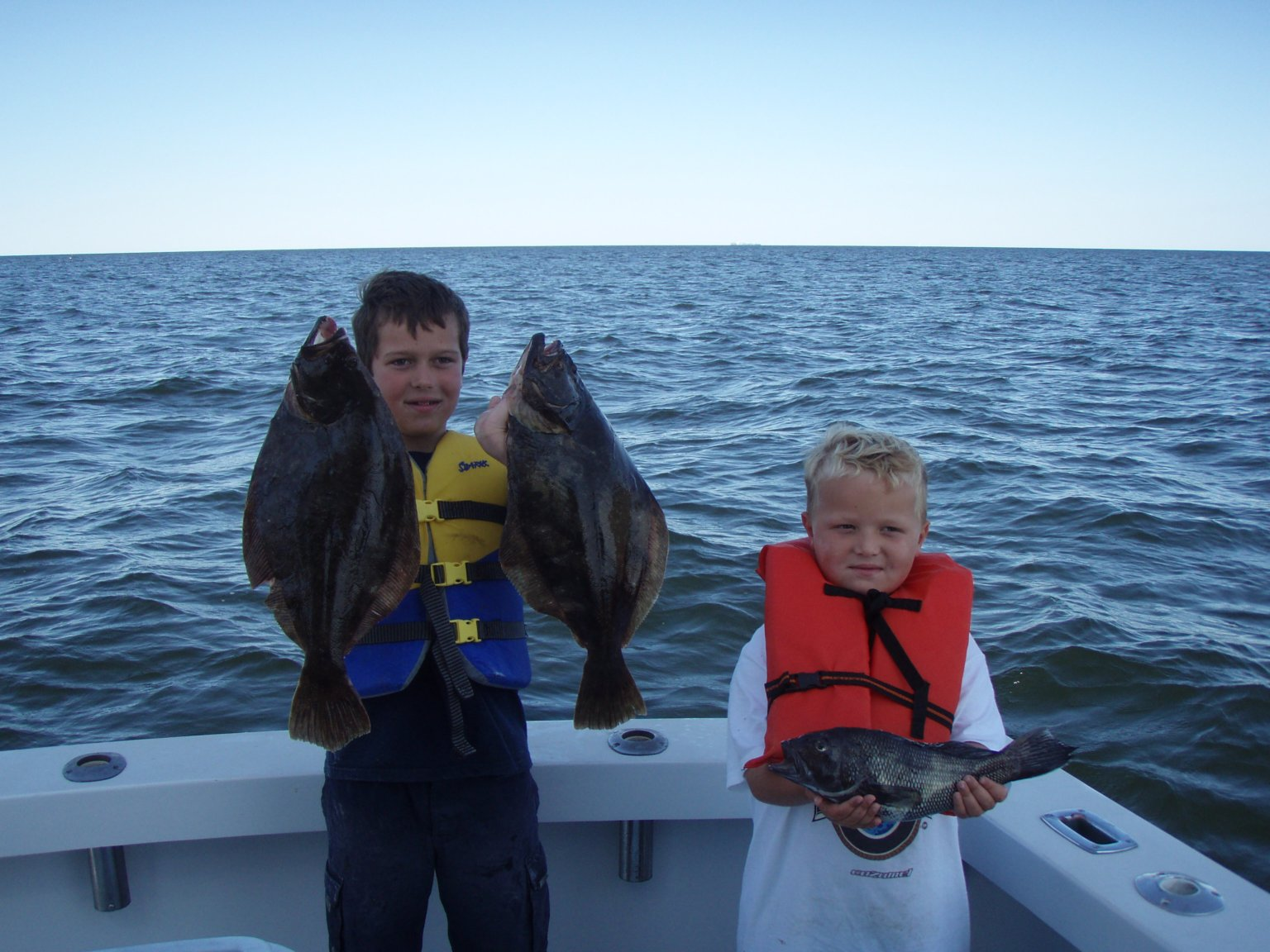 Fluke Fishing from Belmar NJ